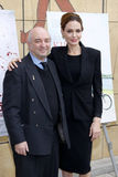 Aida Takla O'Reilly και Angelina Jolie Στοκ Εικόνες