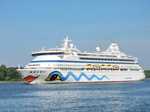 AIDA vita Cruise ship Royalty Free Stock Photography