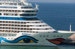 AIDAblu cruise ship Stock Image
