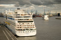 Aidamar in Hamburg Royalty Free Stock Photography
