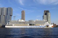 AIDAprima, cruisevoering Stock Afbeeldingen