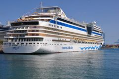 AIDAsol-Kreuzschiff Lizenzfreie Stockfotos