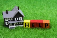 Aide d'hypothèque Images libres de droits