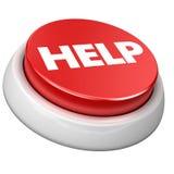 Aide de bouton Image libre de droits