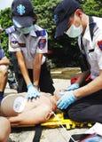 Aide de CPR Photo libre de droits