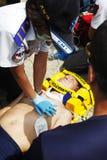 Aide de CPR image libre de droits
