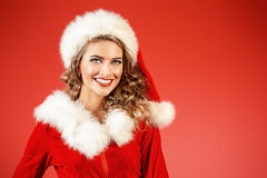 Aide de Santa Photo libre de droits