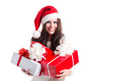 Aide de Santa Image stock