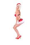 Aide de Santa de Noël Images libres de droits