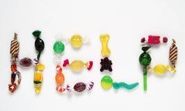 Aide de sucreries Photographie stock libre de droits