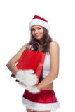 Aide du `s de Santa Photos libres de droits