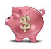 Aide financière Images libres de droits
