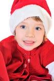 Aide heureux de Santa Photos stock