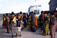 aide l'humanitaire Photos libres de droits