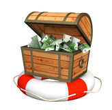 Aide à la crise financière Image libre de droits