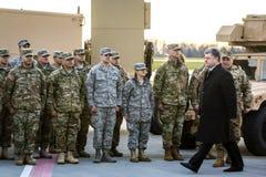 Aide militaire vers l'Ukraine Photographie stock libre de droits