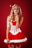 aide Santa sexy Photographie stock