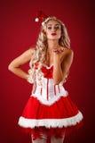 aide Santa sexy Images libres de droits