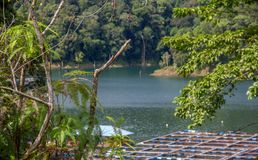 Aides à haute impression de projet d'aquiculture de SG Como réduire la pauvreté image stock