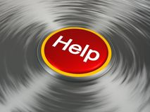 Aidez à se boutonner Photo stock