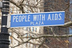 AIDS. Acquired immune deficiency syndrome, is a spectrum of conditions caused by infection with the HIV, human immunodeficiency virus. People with  Plaza, in royalty free stock image