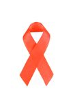 Aids awareness red ribbon Stock Photography