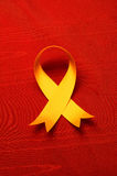 AIDS awareness ribbon Stock Images