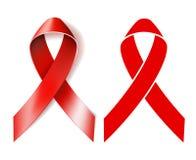 AIDS awareness ribbon Royalty Free Stock Photography