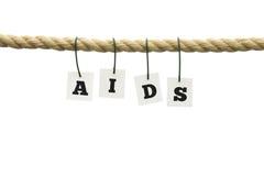 Aids awareness stock photo