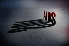 Aids awarenessn concept royalty free stock photography