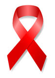 AIDS Bewusstseins-Farbband Stockfotos
