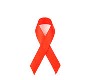 AIDS Bewusstseins-Farbband Lizenzfreies Stockbild