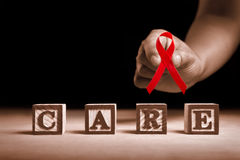 AIDS care Stock Images