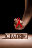 AIDS care Royalty Free Stock Photography