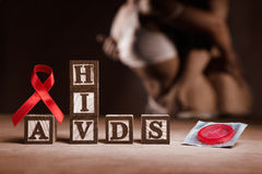 AIDS concept Stock Image