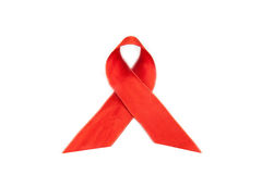 Aids Hiv Awareness Ribbon Royalty Free Stock Photos
