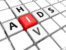 Aids HIV Stock Image
