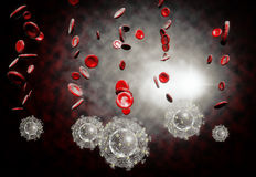 Aids HIV Virus Stock Photos