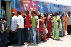 AIDS-/HIVmedvetenhet aktion-Indien Royaltyfria Foton