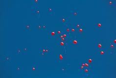 AIDS Memorial Balloons Stock Photo