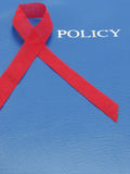 AIDS Policy Royalty Free Stock Image