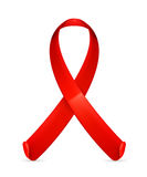 AIDS red ribbon Royalty Free Stock Photography