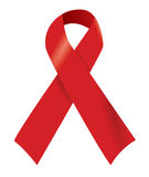 Aids Red Ribbon Stock Images