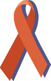 An AIDS ribbon Royalty Free Stock Images