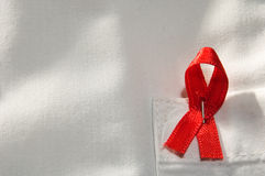 Aids ribbon Royalty Free Stock Image