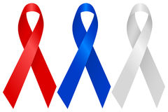 Aids ribbon Royalty Free Stock Images
