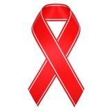 Aids ribbon symbol royalty free stock photography