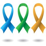 AIDS ribbons Stock Photos