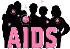 AIDS Silhouette Stock Photos