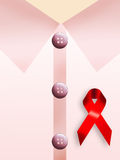 AIDS symbol Royalty Free Stock Images